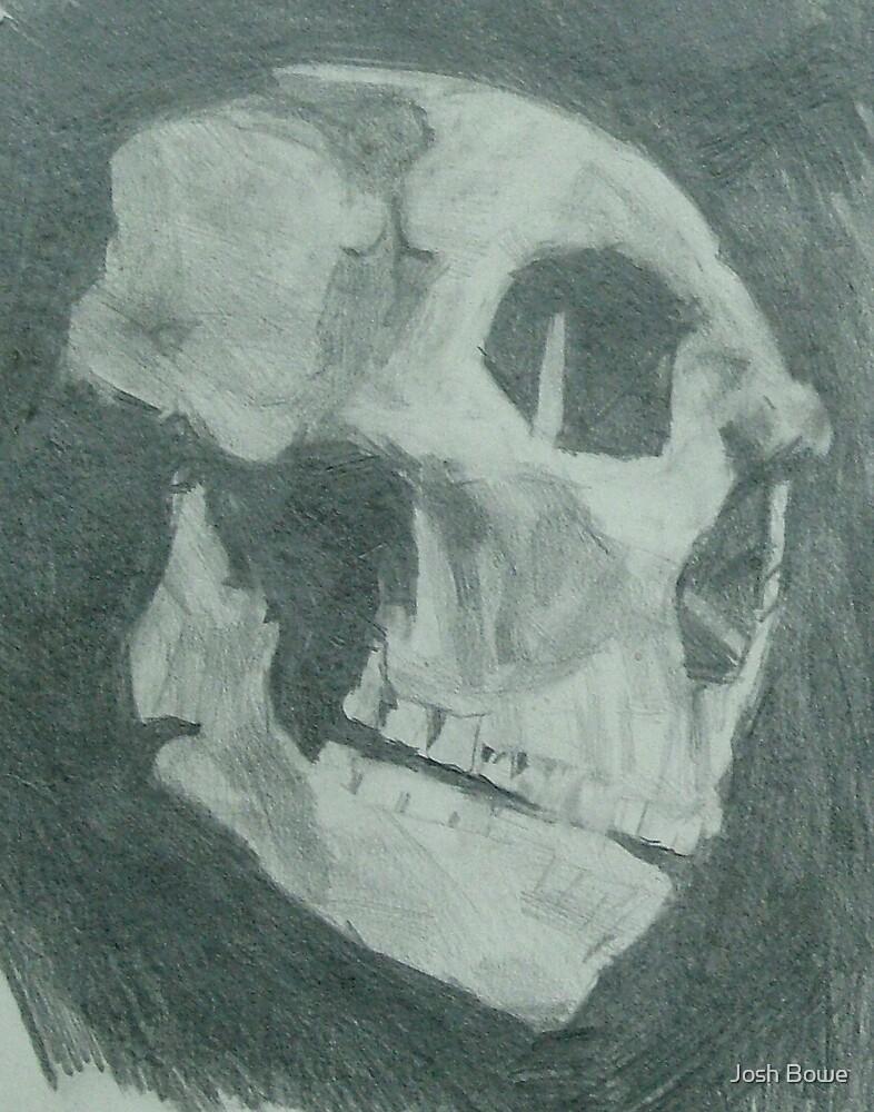 Neanderthal Skull Study 2 by Josh Bowe