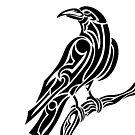 Tribal Crow by Rhonda Blais