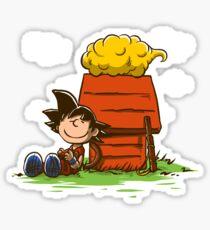 Peanuts Z Sticker