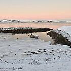 Kirkenes, Norway in January by AHELENE