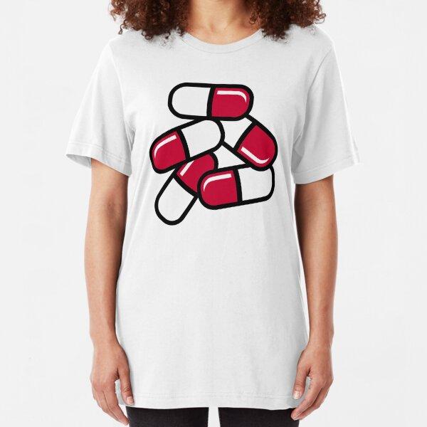 Schlanke rote Pillen
