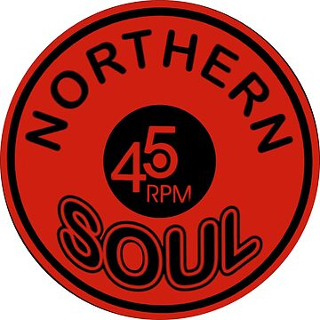 Northern Soul Vinyl 45 Badge Collection by NorthernSoulz