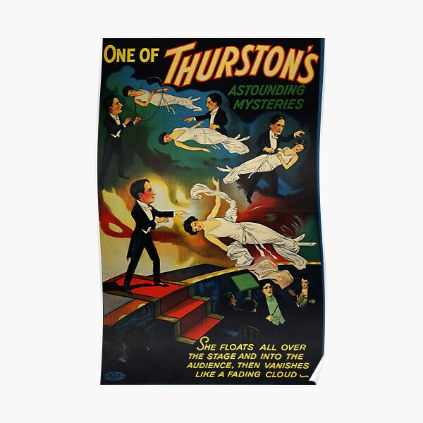 Thurston Magician Poster Poster