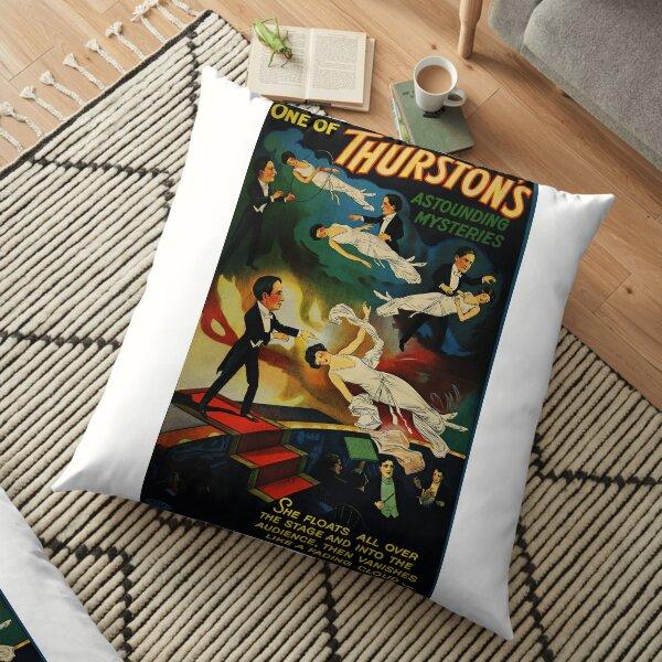 Thurston Magician Poster Floor Pillow