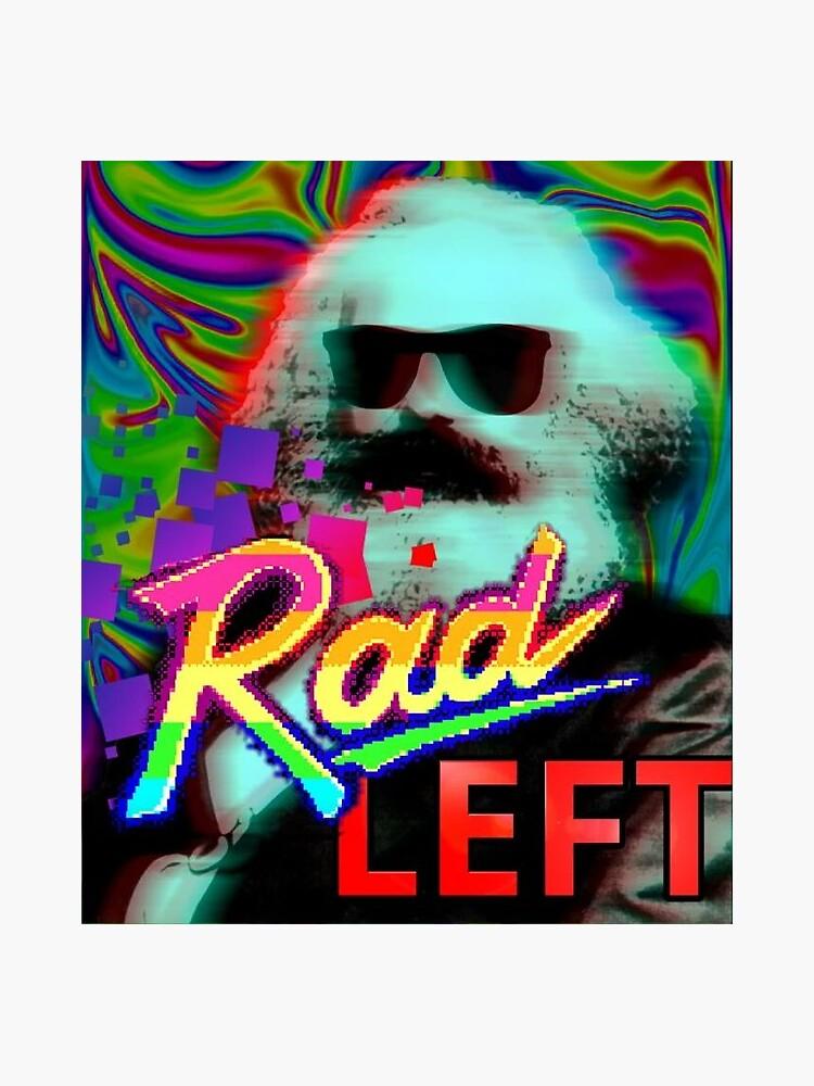Rad Left Karl Marx by innawoods