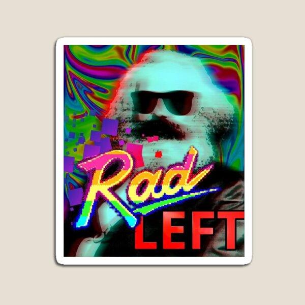 Rad Left Karl Marx Magnet