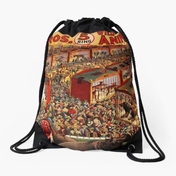 Christy Bros. circus poster Drawstring Bag