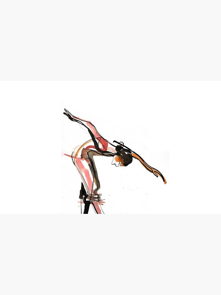Ballett-Tanz-Zeichnung von CatarinaGarcia