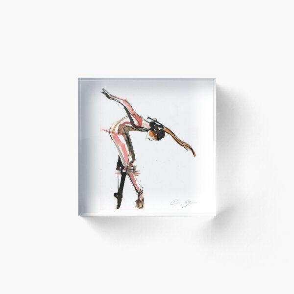 Ballet Dance Drawing Acrylic Block