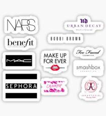 Makeup brands Stickers Pack Sticker