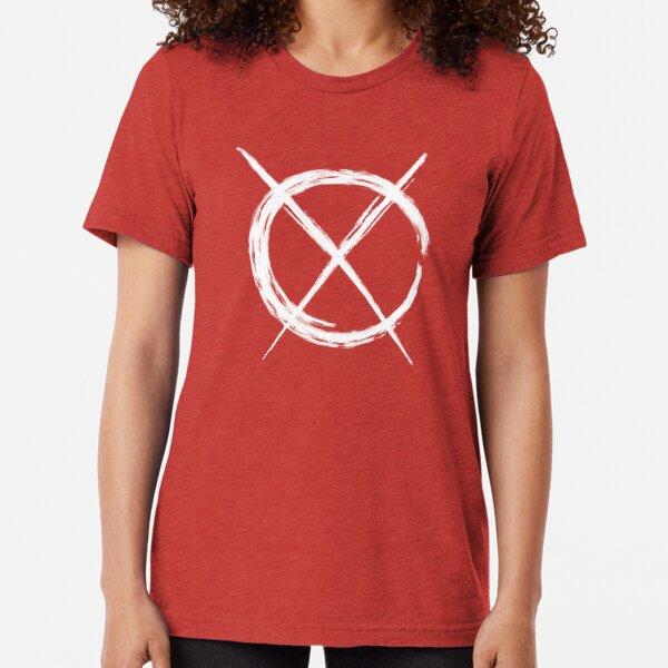 Art Cross (in white) Tri-blend T-Shirt