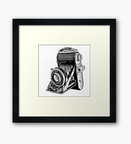 Welta Vintage Camera Framed Print