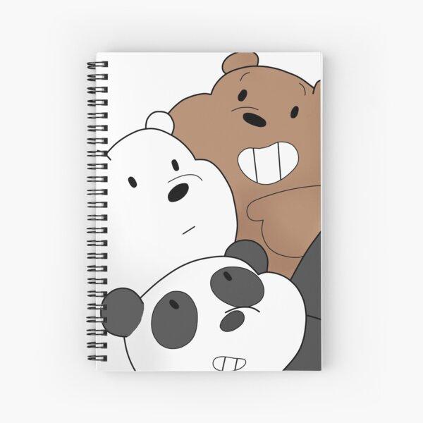 We bare Bears Cuaderno de espiral