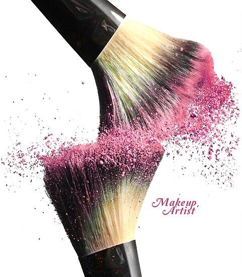 """MakeUp Artist"" Poster by MDAM | Redbubble"