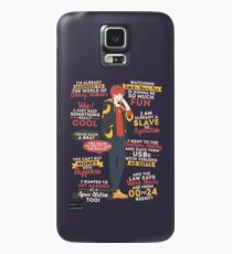 707 Quotes Case/Skin for Samsung Galaxy