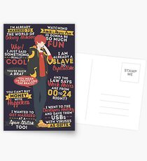 707 Quotes Postcards