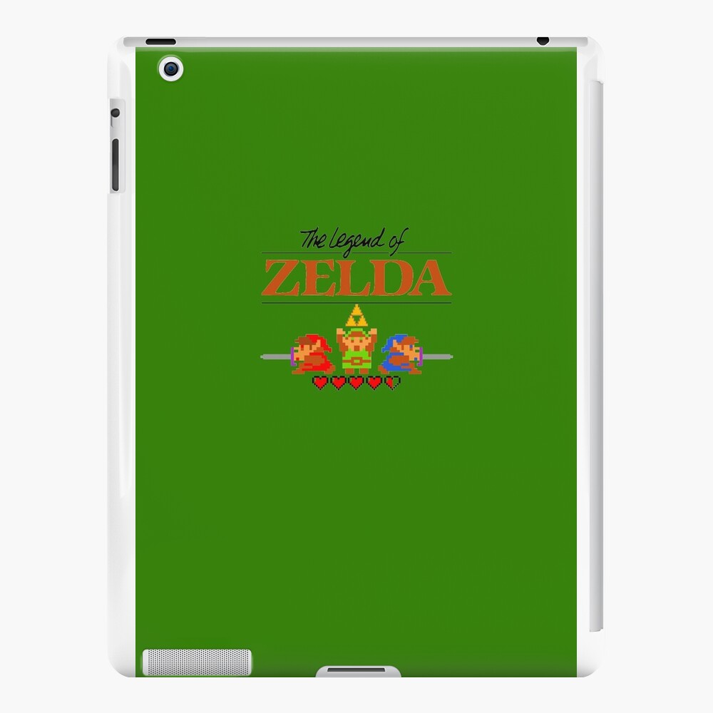 Die Legende von Zelda Ocarina der Zeit 8 Bit iPad-Hüllen & Klebefolien