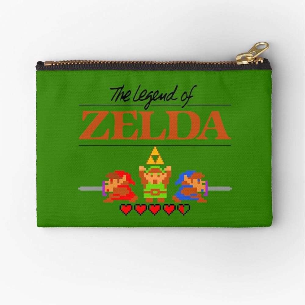 Die Legende von Zelda Ocarina der Zeit 8 Bit Täschchen