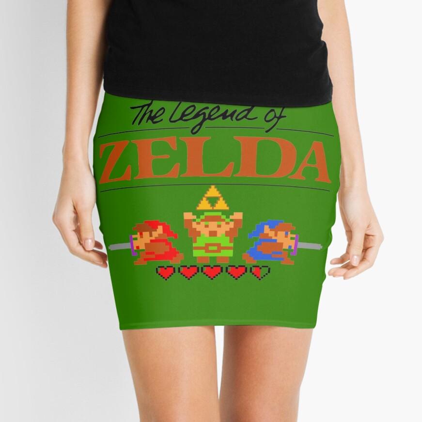 Die Legende von Zelda Ocarina der Zeit 8 Bit Minirock