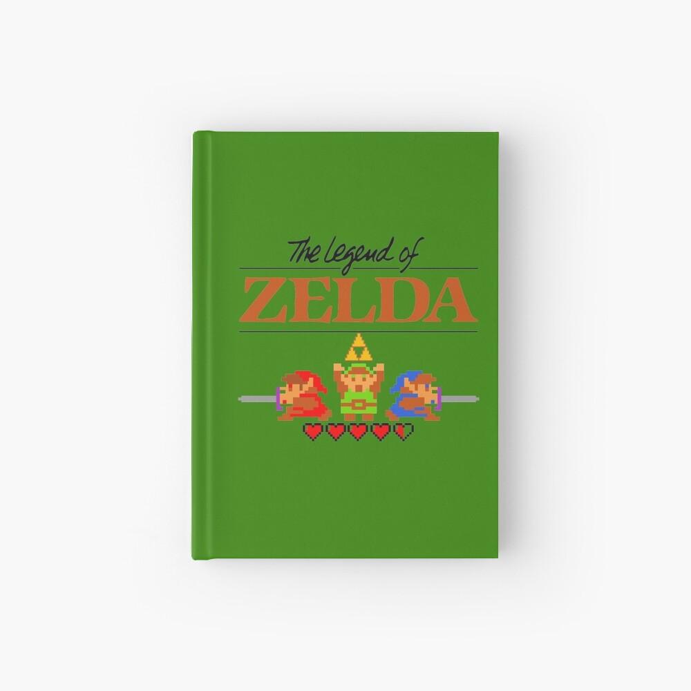 Die Legende von Zelda Ocarina der Zeit 8 Bit Notizbuch