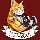 Meowscle by c0y0te7