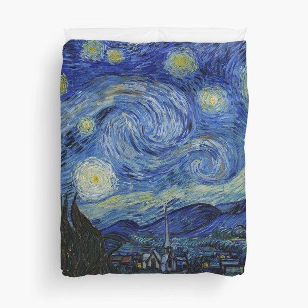 Van Gogh, Starry Night Duvet Cover