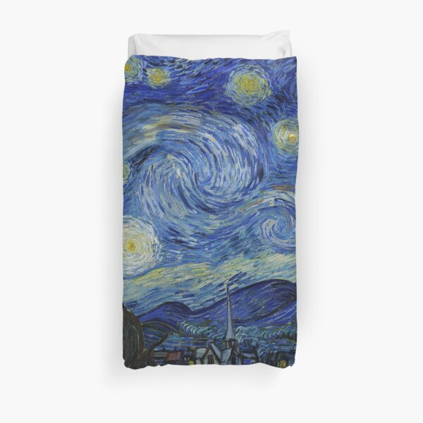 Van Gogh, Starry Night Duvet Cover