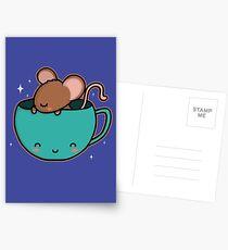 Teacup Mouse Postcards
