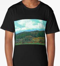 Colorful Landscape Long T-Shirt