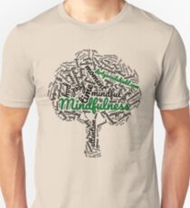 Mindfulness Tree Word Cloud Unisex T-Shirt