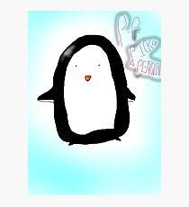 P-p pick up a penguin Photographic Print