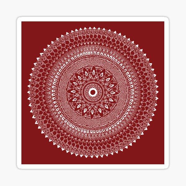 Thai Fusion Mandala - By SimmyGhatt Sticker