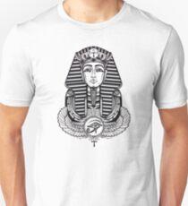 Egyptian Pharaoh with Winged Ankh Unisex T-Shirt
