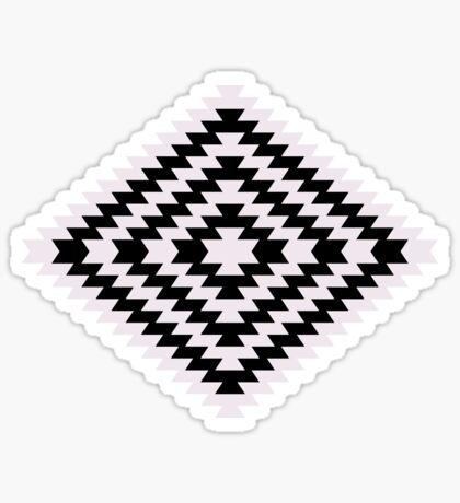 Modern Kilim - black and white Sticker