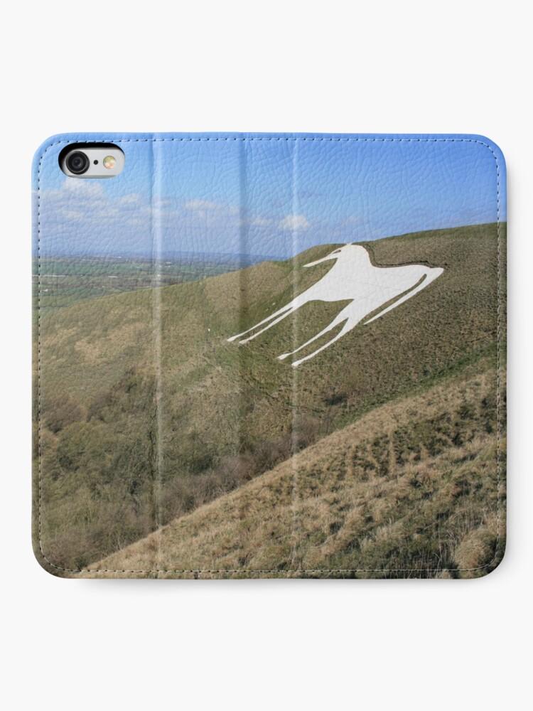 Alternate view of White Horse, Westbury iPhone Wallet