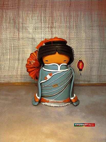 CHUNKIE China by © Karin Taylor