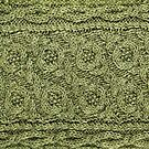 Crossways Cable - Celery by Marsha White
