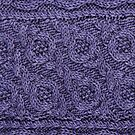 Crossways Cable - Purple by Marsha White