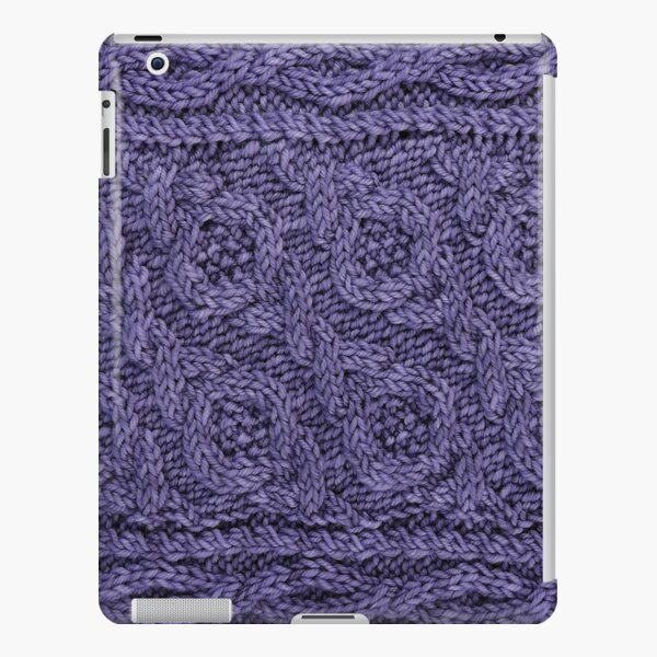 Crossways Cable - Purple iPad Snap Case
