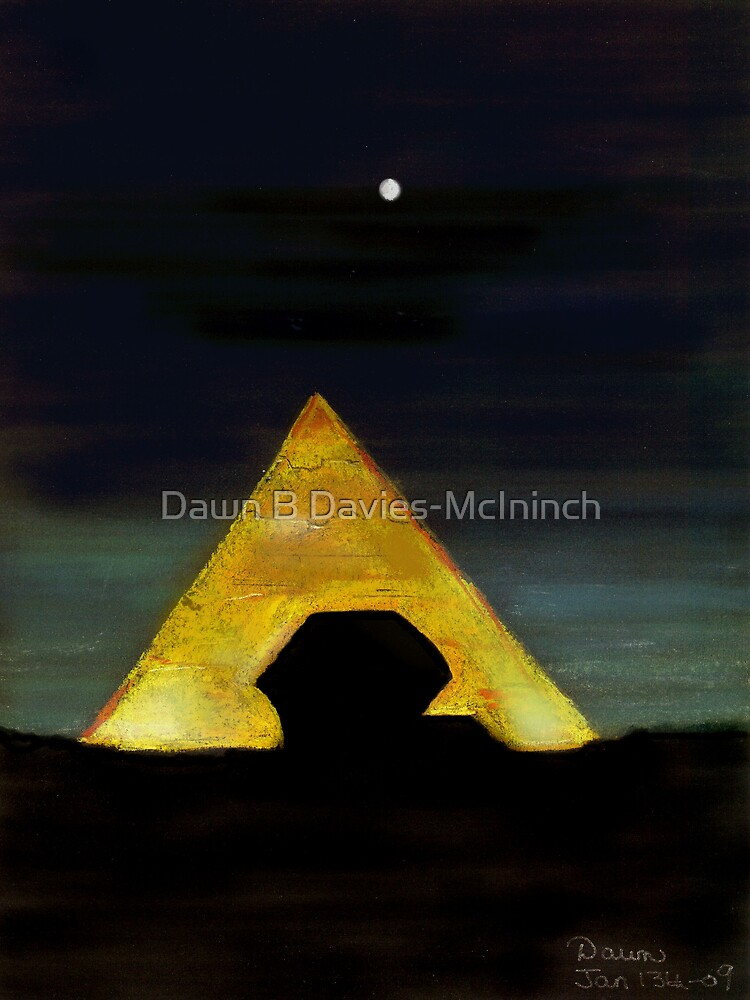 Egyptain Moon by Dawn B Davies-McIninch