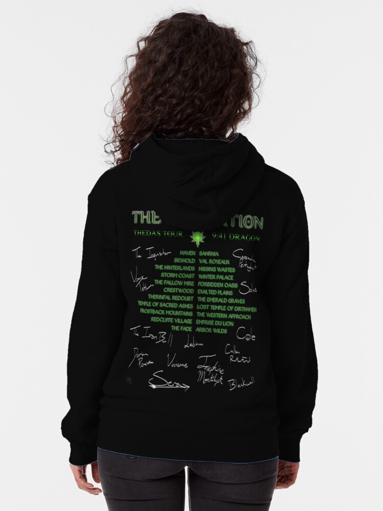 Alternate view of Inquisition Concert Tour Zipped Hoodie