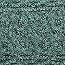 Crossways Cable - Teal by Marsha White