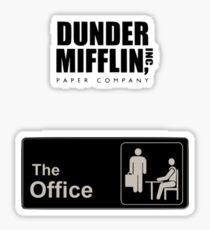 Pegatina Dunder Mifflin