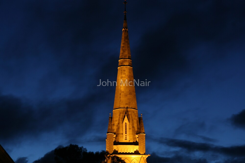 Beacon in the night by John McNair