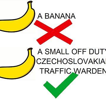 It's a Banana - Red Dwarf  by EddRising
