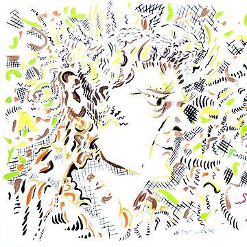 Isaac Newton by DaveMartsolf