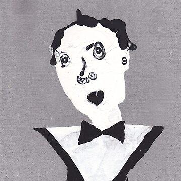 Klaus - Martin Boisvert - Face à flaques by martinb1962