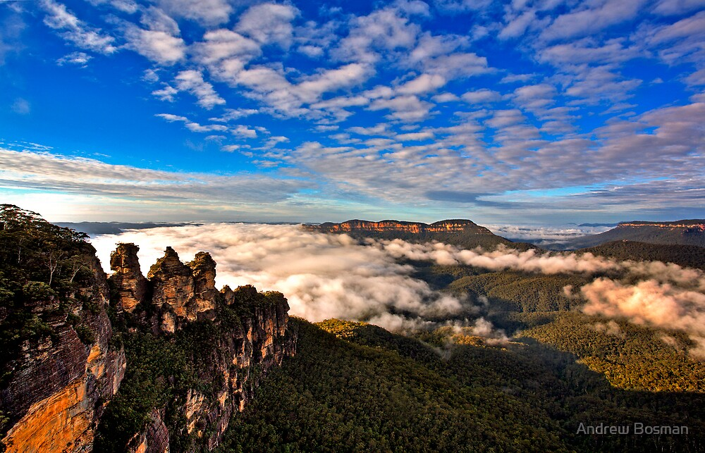 Echo Point. by Andrew Bosman