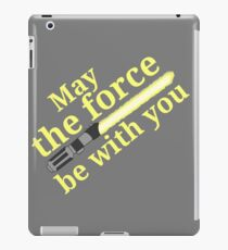 Star wars - Yellow lightsaber iPad Case/Skin