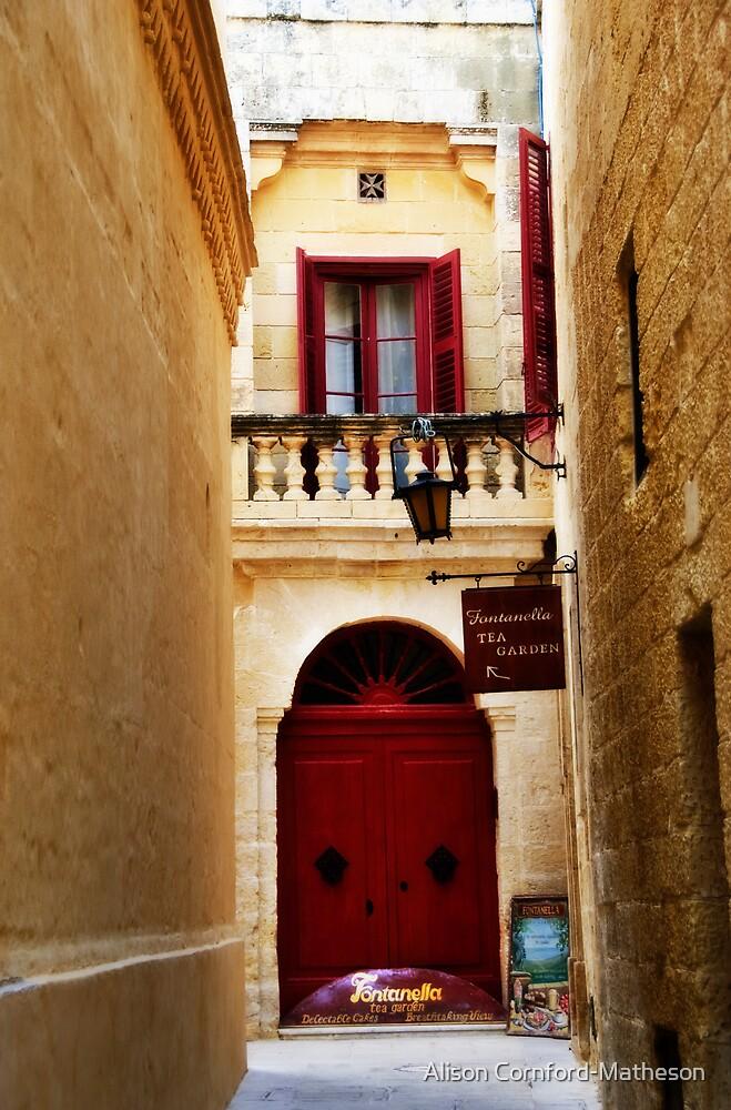 Malta Restaurant by Alison Cornford-Matheson